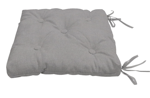 Подушка на стул Адриана серый