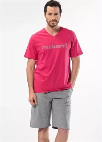 Мужской домашний костюм Chacharel розовый