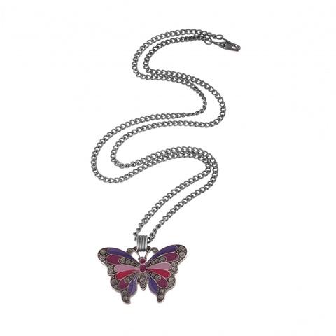 Колье бабочка B43853.23.C V