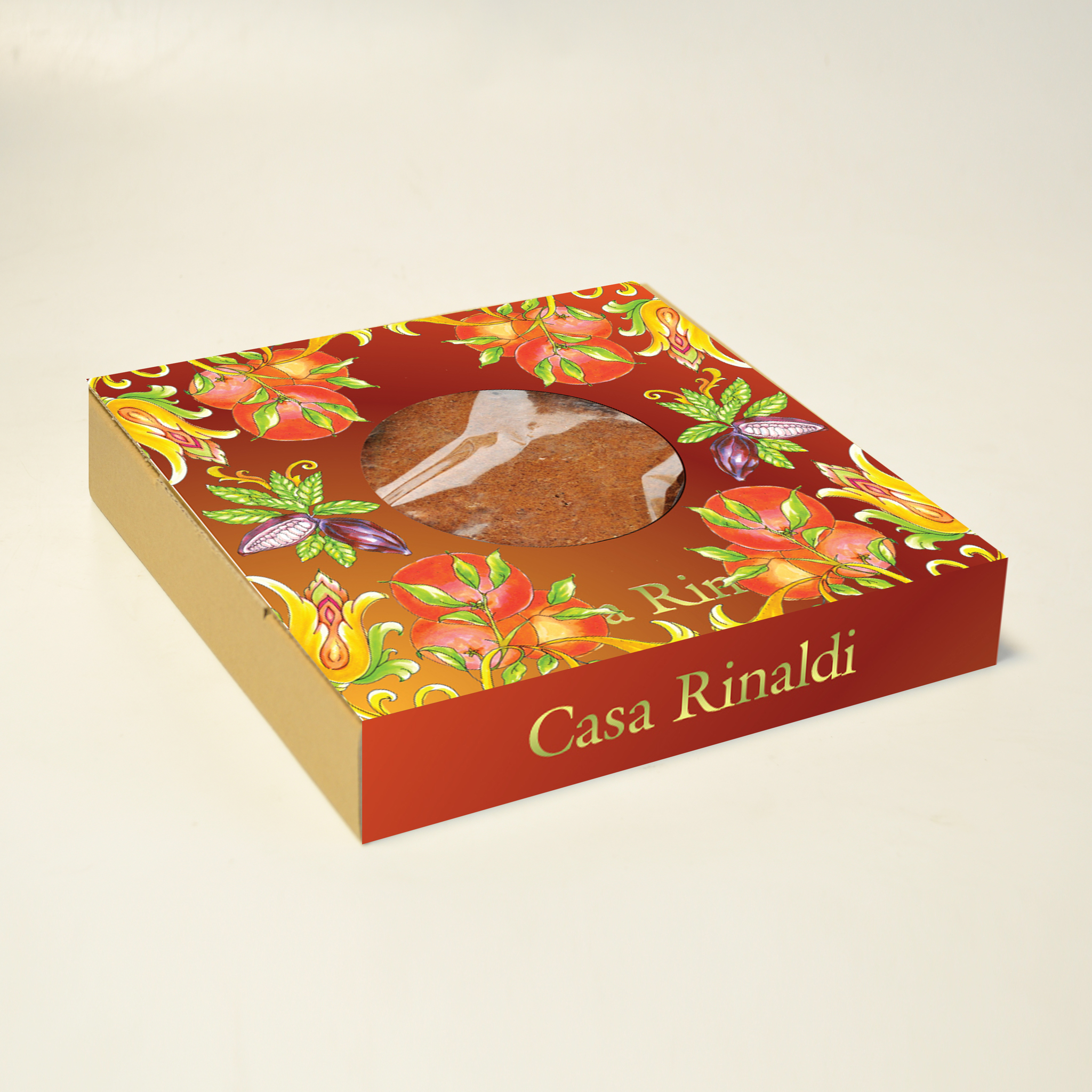 Торт шоколадно-апельсиновый Casa Rinaldi 300г