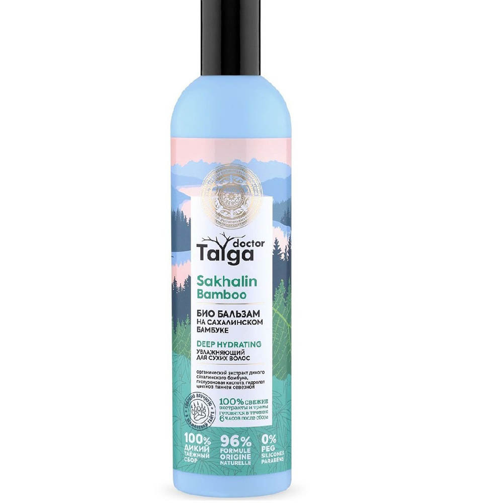 Бальзам-био Увлажняющий для сухих волос Doctor Taiga