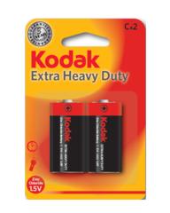 Батарейки Kodak R14, C (2/24/480)