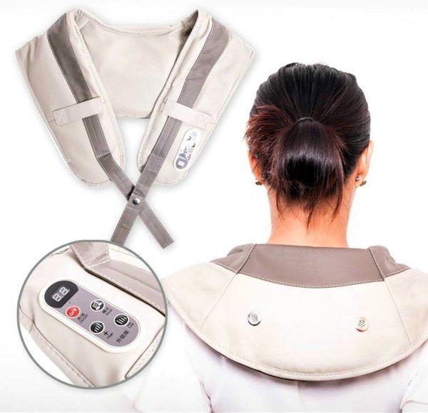 Для красоты и здоровья Ударный массажер для тела Здоровая спина CervicalMassageShawls.jpeg