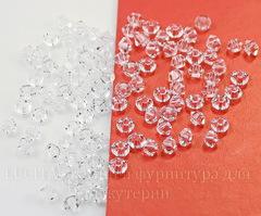 5328 Бусина - биконус Сваровски Crystal 3 мм, 10 штук