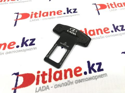 Заглушка ремня безопасности одинарная с логотипом ЛАДА