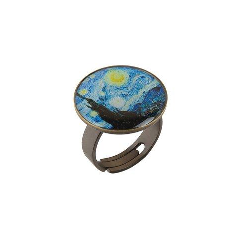 Кольцо «Звездня ночь» K78281-NOCH