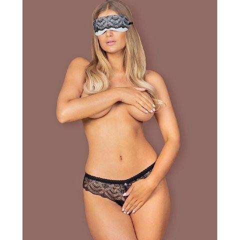 Набор Firella трусики с разрезом и маска