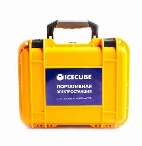 Портативная (переносная) электростанция ICECUBE ES-40 (40 А-ч, 480 Вт-ч)