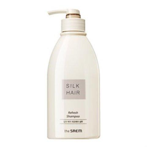 The Saem Silk Hair Refresh Shampoo шампунь для жирных волос освежающий