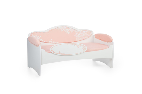Диван-кровать для девочек Mia Персик