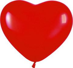 S Сердце 12 Пастель Красный