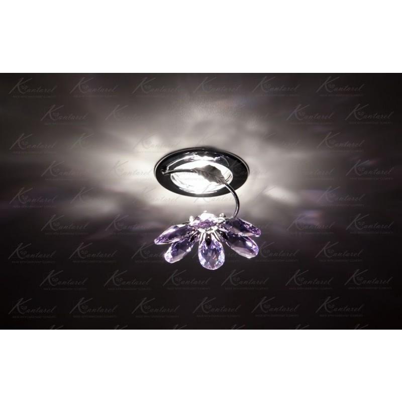 Встраиваемый светильник Kantarel BLOSSOM CD 015.3.2/5 violet