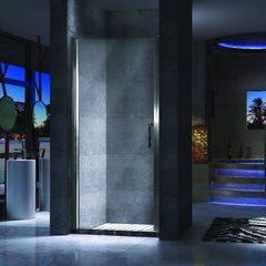 Душевая дверь в нишу ESBANO-70LD L 70 см левая
