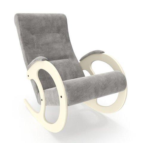 Кресло-качалка Комфорт Модель 3 дуб шампань/Verona Light Grey
