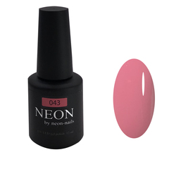 Розовый теплый гель-лак NEON