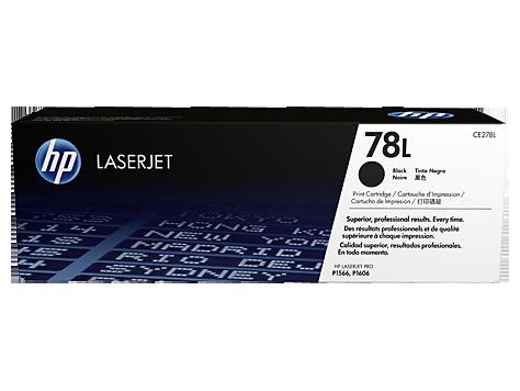 Картридж лазерный original 78L CE278L черный (black), экономичный до 1000 стр., +1 бесплатная заправка.