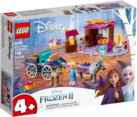 LEGO Disney Princess: Дорожные приключения Эльзы 41166 — Elsa's Wagon Adventure — Лего Принцессы Диснея