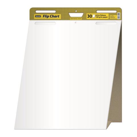 Флипчарт мобильный 63.5x83.2 см (белый 30 листов 100 г/кв.м, раздвижной блок) Attache Selection