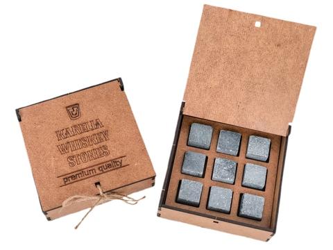 Камни для виски KARELIA WHISKEY STONES (KRAFT)