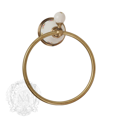 Кольцо Migliore Provance ML.PRO-60.508 керамика с декором
