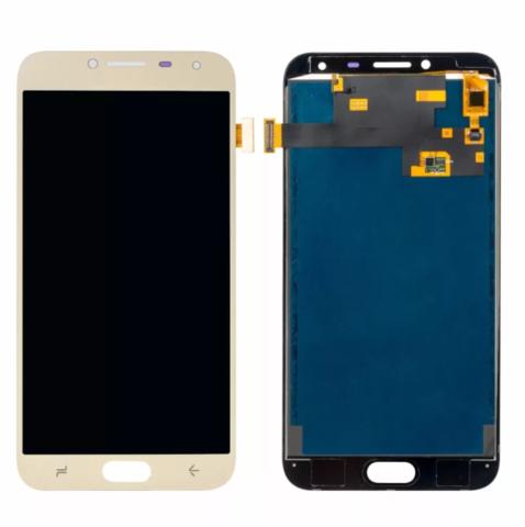 LCD SAMSUNG J4 2018 J400F + Touch Gold OLED MOQ:5