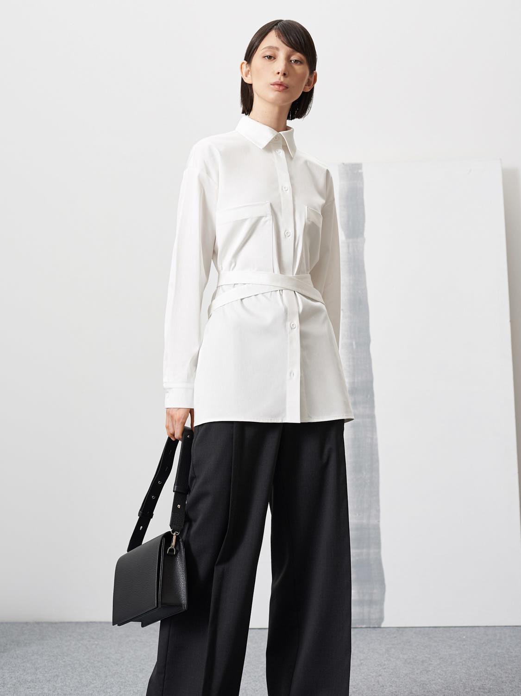 Рубашка Flo с поясом из кармана