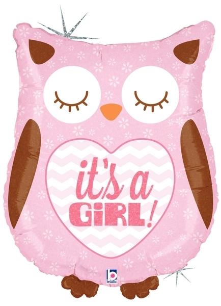 Сова выписка девочка розовая