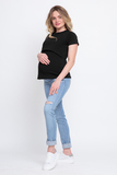 Джинсы для беременных (SLIM) 08840 синий