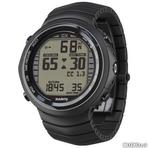 Наручные часы-компьютер Suunto с интерфейсом DX titanium