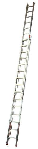 ROBILO Лестница вытягиваемая тросом, из двух частей, 2 х 15 перекл.