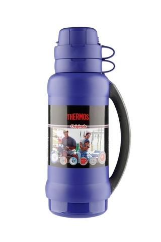 Термос Thermos 34 серия (1,8 литра) стеклянная колба, синий
