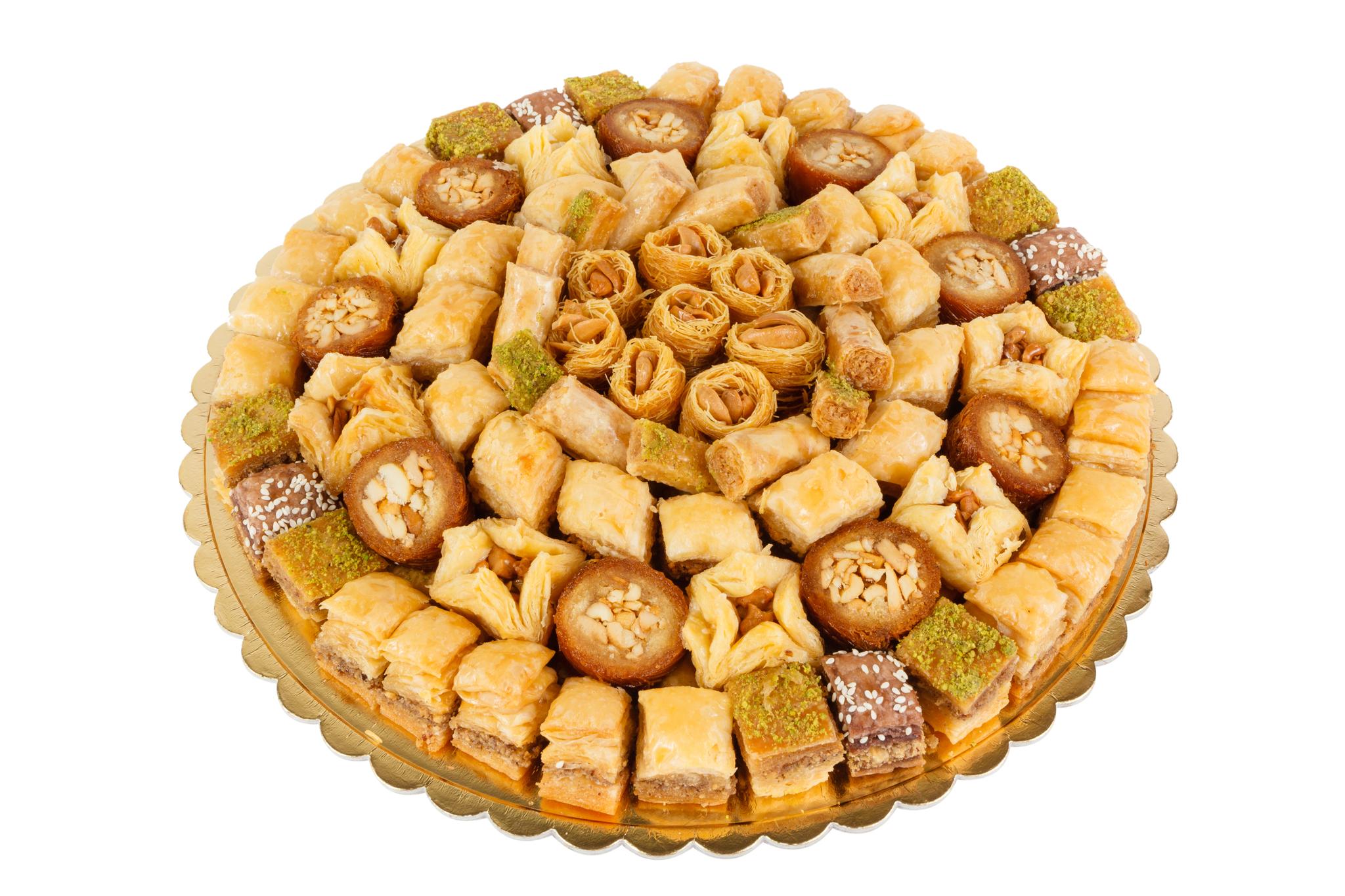"""Pate D'or Пахлава - ассорти ливанских сладостей """"Подарочное"""" 2000 г import_files_7e_7e6d0c11787e11e799f3606c664b1de1_22677824ae6c11e7b011fcaa1488e48f.jpg"""