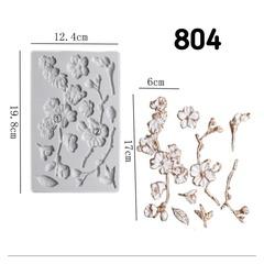 Молд Сакура барельеф, Арт.PO-0804, силикон