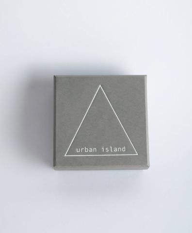 Подарочная коробка Urban Island серая