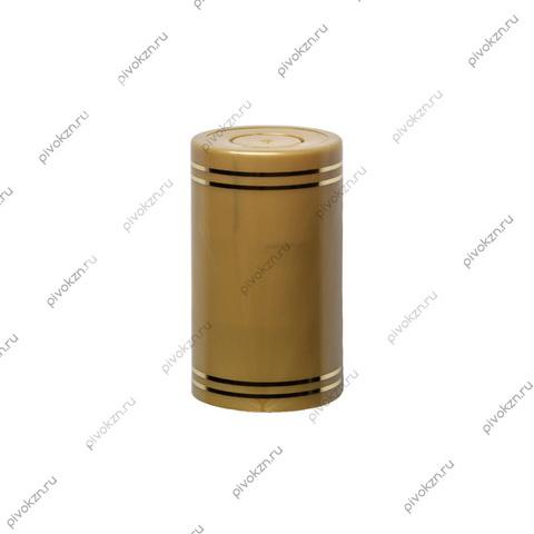 Колпачок Гуала 58 мм, золотой, 10 шт