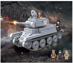 Конструктор Танки Второй Мировой войны Советский Танк БТ-7