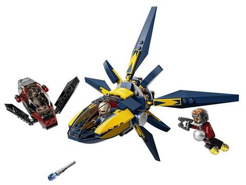 LEGO Super Heroes: Битва с использованием звёздных бластеров 76019 — Starblaster Showdown — Лего Супергерои Марвел