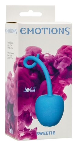 Стимулятор со смещенным центром тяжести Emotions Sweetie turquoise 4004-03Lola