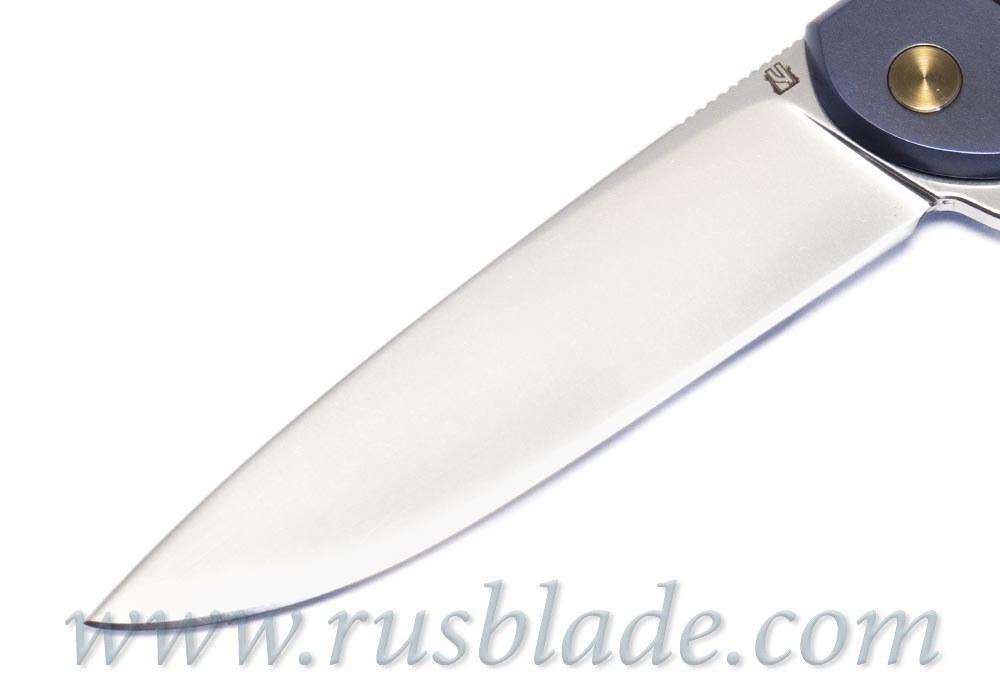 Cheburkov Custom Scout Titanium engraving - фотография