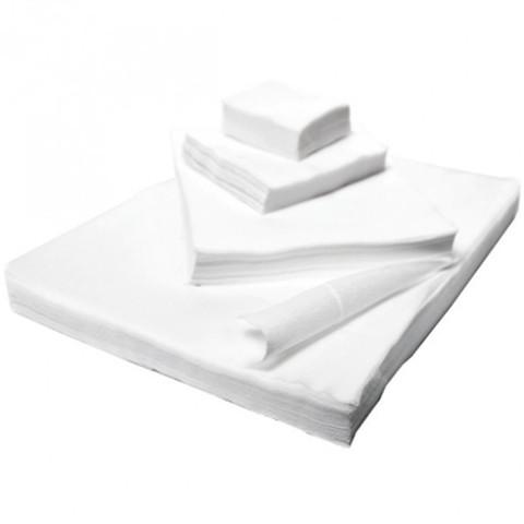 Салфетки одноразовые спанлейс в сложении  30х40 см, 100 шт.