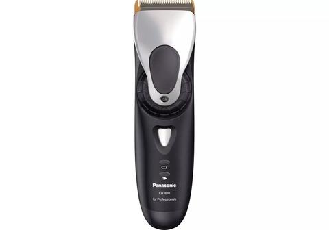 Машинка для стрижки Panasonic ER1611, аккум/сетевая, 3 насадки, серая
