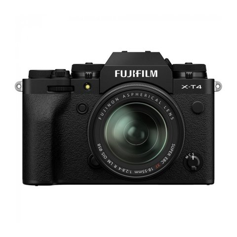 Fujifilm X-T4 Kit XF 18-55mm F2.8-4 R LM OIS Black