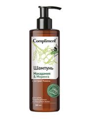 Compliment ECO BEST Шампунь для сухих, поврежденных и секущихся волос Макадамия & Моринга