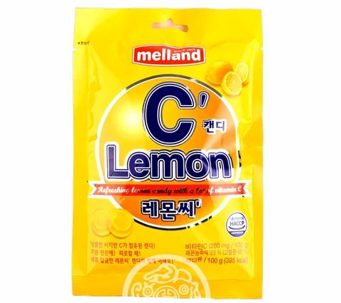 Леденцы Melland Lemon С со вкусом лимона 100 гр