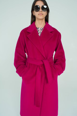 Классическое пальто-халат