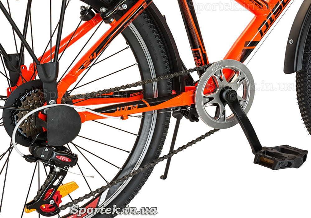 Трансмиссия велосипеда Discovery Flint MC