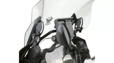 Комплект усилителей ветрового стекла BMW R 1200/1250 GS/GSA, черный