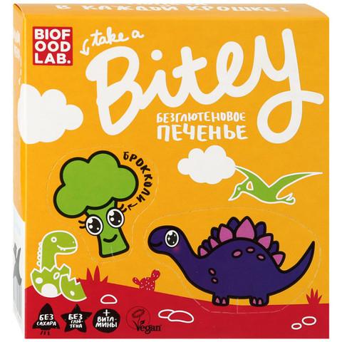Печенье Bitey Брокколи б/глют 125г Vegan