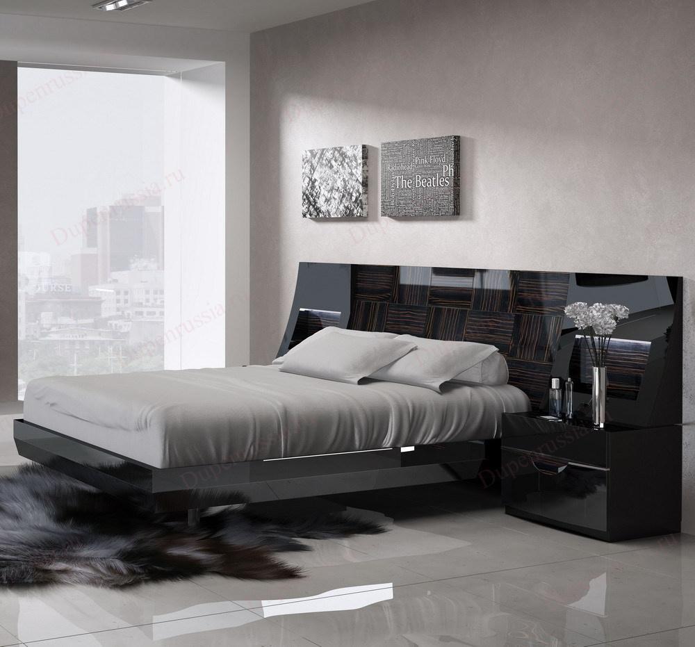 Кровать FENICIA 505 MARBELLA черная