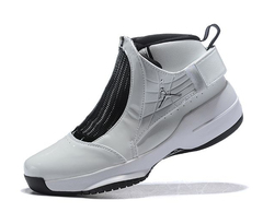 Air Jordan 19 Retro White/Chrome-Flint Grey'